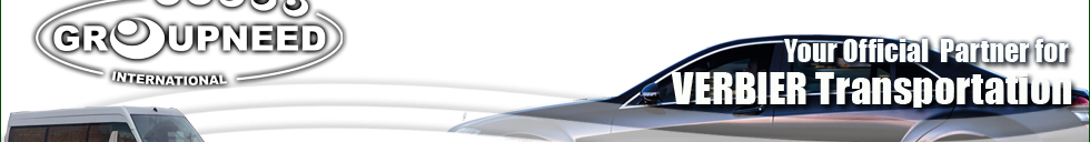 Airport transfer to Verbier from Geneva with Limousine / Minibus / Helicopter / Limousine